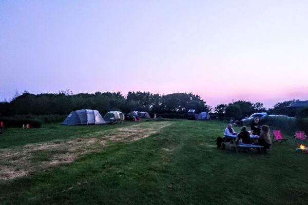 Pembrokeshire camping, campsite in Pembrokeshire, camping Little Haven,