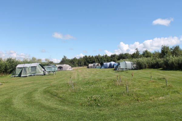 Pembrokeshire campsite, coastal camping